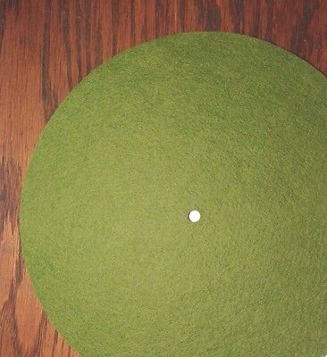 "Replacement Felt & Bumpers for Victor Victrola & Other Brands, 10"", Lt. Green"