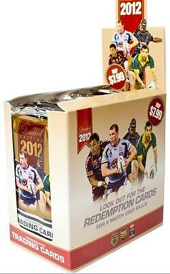 NRL 2012 RUGBY LEAGUE - Limited Edition Trading Cards ~ Sealed Box (18ct) #NEW
