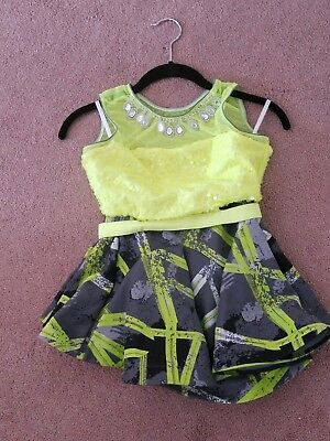 10th House Neutron Girls 2 Piece Dance Costume - Style TH18117