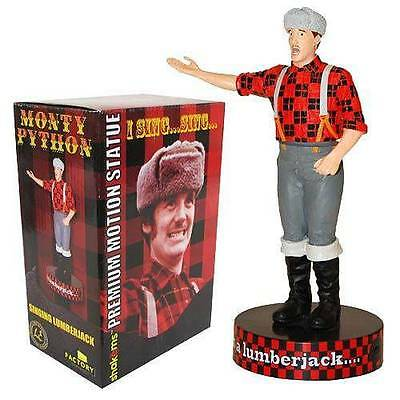 "MONTY PYTHON - Lumberjack 7"" Premium Motion Statue (Factory Entertainment) #NEW"