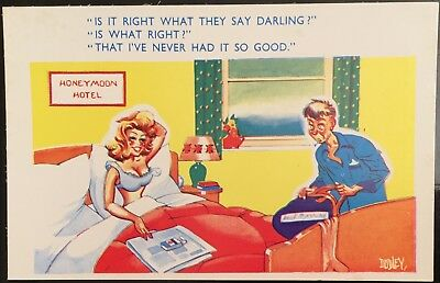 E Marks Postcard - Comic Saucy - Postcard No: 2476 - By Dudley