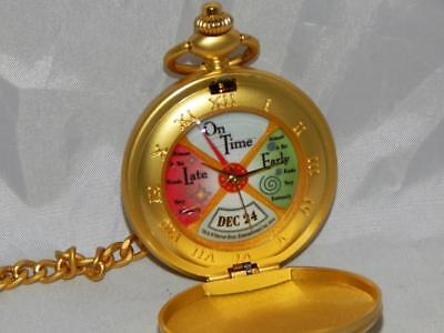 THE Polar Express Conductor's Pocket Watch New in Package Christmas Railroad