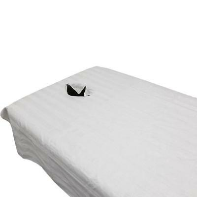 Disposable Bed Sheet with face hole 50pk