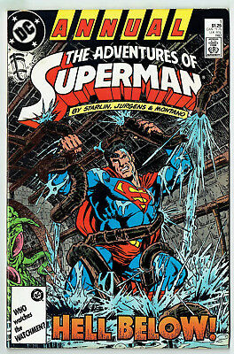 The Adventures of Superman Annual 1 (DC 1987) Hell below!, Starlin!