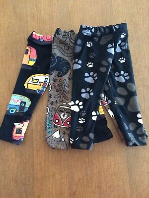 18 Inch Doll Clothes - Leggings-3 Piece Lot-Fit American Girl-Handmade new!