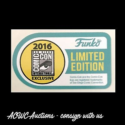 Pop Vinyl Replacement Sticker - 2016 SDCC Limited Edition