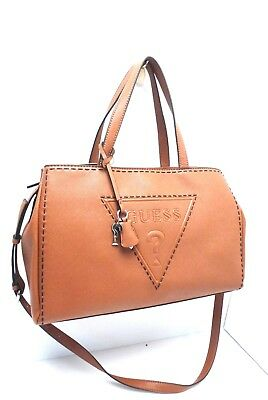 Authentic Guess Handbag Delaney Small Classic Tote Gold GC453522-GOL