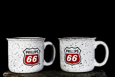 Phillips 66 Coffee Mug  New Cups Vintage Gas Sign Advertisement