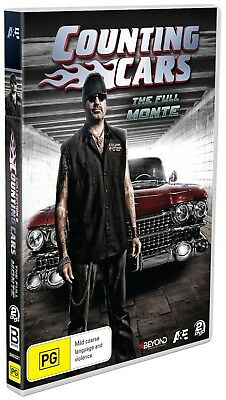 Counting Cars: The Full Monte  DVD $13.99