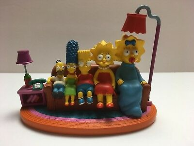 """The Simpsons """"Reverse Size"""" Couch Gags Statue S#542 - 2003 Hamilton (Lamp Chip)"""