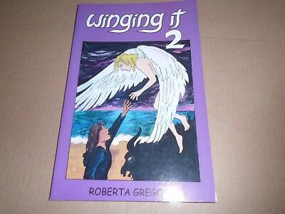 WINGING IT 2 Graphic Novel Roberta Gregory 1999 NM