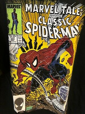 RARE Marvel Classic Spiderman Mens shirt Size XXL Brand New with tags!