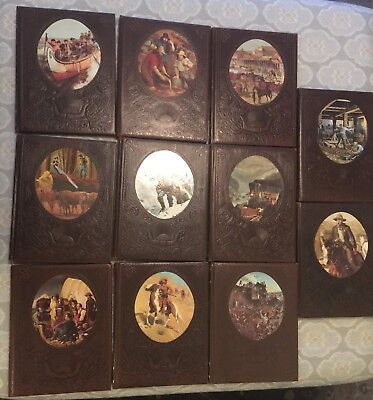 Time Life Books The Old West Set of 11 books. Alaskans, Pioneers, Railroaders +