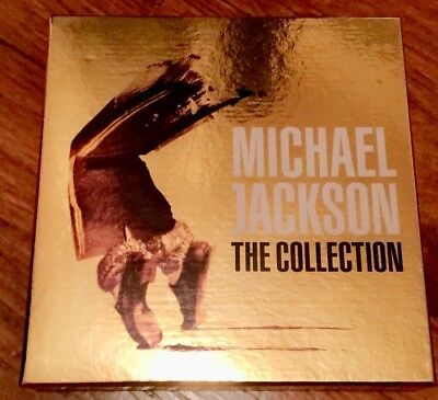 The Collection Michael Jackson Gold Collector Limited Edition Very Rare