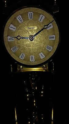 Vintage Collectable Kieninger & Obergfell Brass Anniversary Dignity Clock