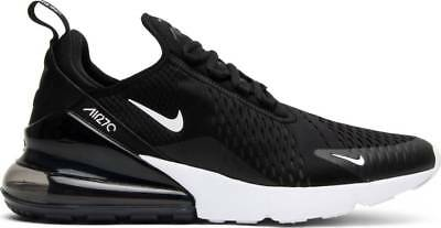 NIKE AIR MAX 270 Mens Casual Shoes BlackAnthraciteWhite AH8050 002 Authentic