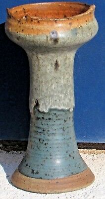 ROBERT C. TURNER Listed American Signed Glazed Stoneware Chalice Form was $1200.