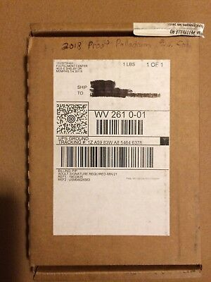 2018 American Palladium Eagle coin- still in unopened US Mint shipping box!