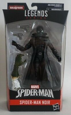 Hasbro Marvel Legends SPIDER-MAN NOIR Spider-Man Lizard Wave NEW IN HAND RARE