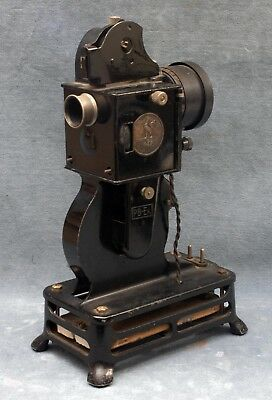 PATHE PB-Ex 9MM PROJECTOR FOR PARTS OR REPAIR, AS-IS, NO RETURN