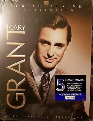 Cary Grant: Screen Legend Collection (DVD, 2006, 3-Disc Set, Franchise...