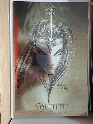 Soulfire #4 Pittsburgh Comicon edition foil cover, ltd 500, Michael Turner