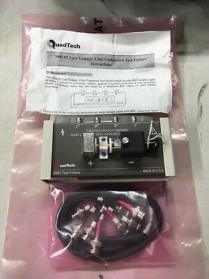 IET / QuadTech 7000-07 SMD Chip Component Test Fixture New