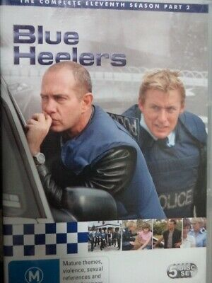 BLUE HEELERS - Complete Season Eleven Part Two 5 x DVD Set Eleventh 11 Pt 2 BB