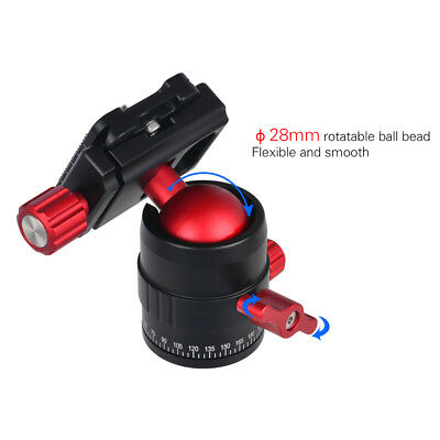 Andoer MT-C3 Compact Size Panoramic Tripod Ball Head Adapter 360° Rotation N5Y9
