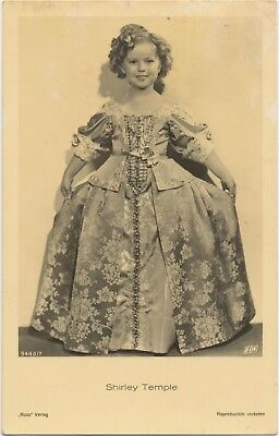 RARE! Shirley Temple Antique Vintage Original Ross Verlag Photo Postcard RPPC 07