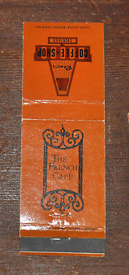 Vintage Mojave CA Kern County Advertising Matchbook Cover Reno's Coffee Shop NR!