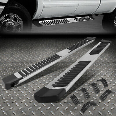 For 99-16 Ford Super Duty Crew Cab Stainless Steel Side Step Bar Running Boards