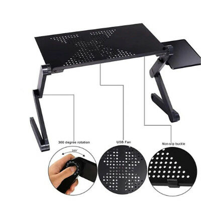 "Portable Adjustable Tablet Stand Riser Holder Ergonomic for 17"" Laptop PC M6O4"