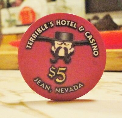 Terrible's Roadhouse Casino ~ Jean, NV ~ $5 house chip issued 2018