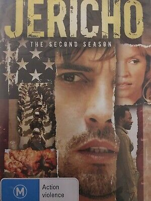 JERICHO - Season 2 2 x DVD Set Excellent Cond! Complete Second Series Two