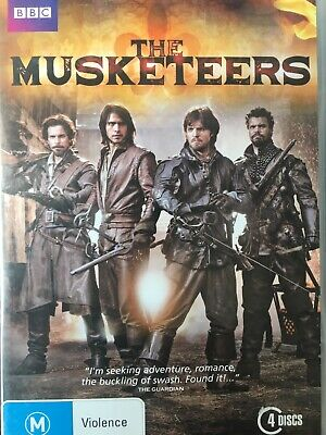 THE MUSKETEERS - Season 1 4 x DVD Exc Cond! Complete First Series One