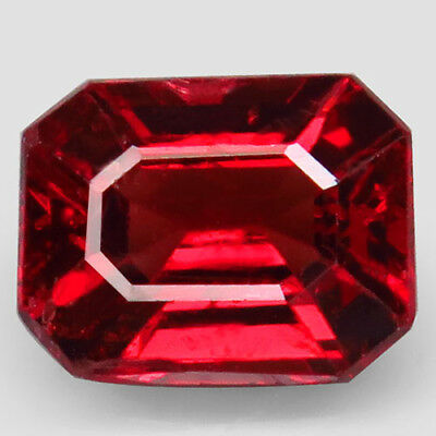 1.34ct.Attractive Gem! 100%Natural Gem Top Red Spinel Unheated AAA Nice Nr!.