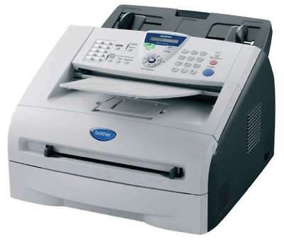 Brother Laserfax 2920 only 8336 Pages Toner + Drum New Fax Fax Machine #31918