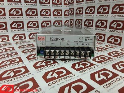 Mean Well SD-350D-24 Single Output Power Supply 24V 14A 350W - Used