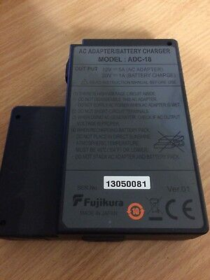 Fujikura AC Adapter / Battery Charger Model: ADC-18 fibre optic splicing OTDR eq