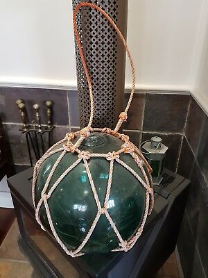 Large Authentic Japanese Fishing Float home decor marine