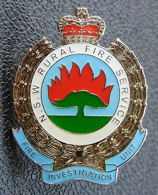 NSW Rural Fire Service - Fire Investigation Unit 3.5cm high Pin - Not Official