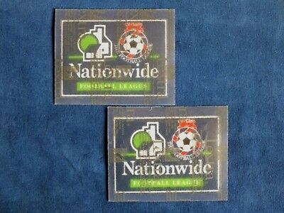 Lextra Official Nationwide Football League 1996-2000 Player Issue Arm Patch Set