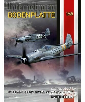 Eduard Plastic Kits 11125 Bodenplatte Dual Combo Limited Edition in 1:48