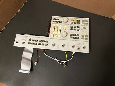 HP Agilent 03562-66515 Keyboard & Front panel for 3562A Dynamic Signal Analyzer