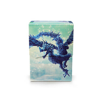 Dragon Shield Deck Shell - Clear Blue (Limited Edition) NEW ohne