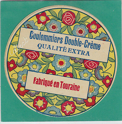 M50 Fromage Coulommiers Double Creme Touraine Fleurs