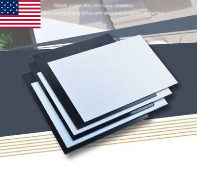 Craft ABS Sheets Plastic Plate Board 200x250mm x thickness 1/1.5/2/5mm US US