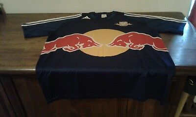 Maglia Shirt Official Adidas Red Bull Salzburg Size Large