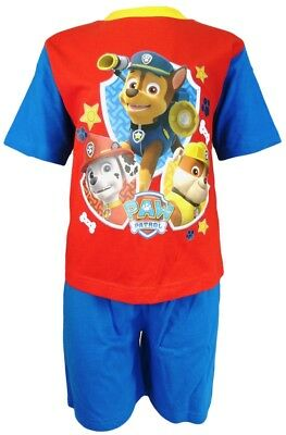 Paw Patrol Boys Paw Patrol Short Pyjamas Ages 18 Months to 4 Years